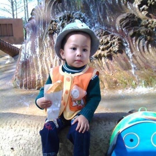 Hình ảnh của bé Lương Thế Vương. (Ảnh: Internet)