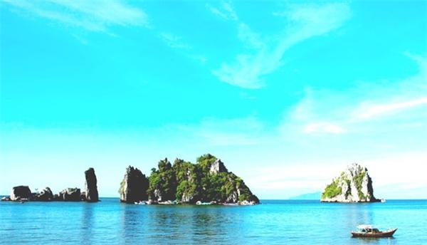 Những hòn đảo nhỏ thuộc quần đảo Bà Lụa. (Ảnh: Internet)