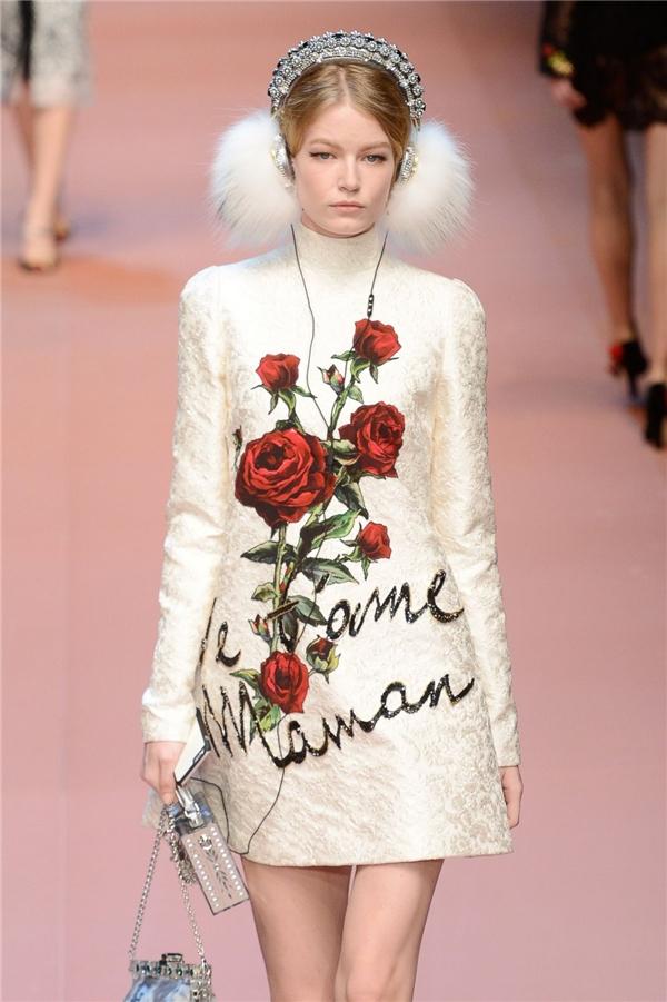 Bộ sưu tập I love you mama! của Dolce and Gabbana cũng dùng hình ảnh hoa hồng. Tuy nhiên, bộ sưu tập này được giới thiệu trước. Chính vì thế còn tận 4 tháng mới đến thời điểm show diễn chính thức nhưng Đỗ Mạnh Cường đã tung ra họa tiết và một vài thiết kế để tránh những tranh cãi từ dư luận.