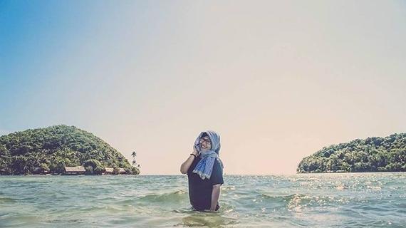 Nước biển không cao quá lưng người lớn. (Ảnh: Internet)