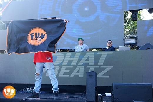 DJ Phat Beatz nổi bật cá tính với phong cách trap và hip hop oldschool.