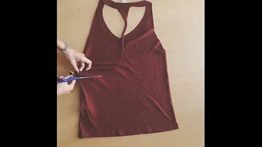 Tự chế trang phục mới không đụng hàng từ quần áo cũ