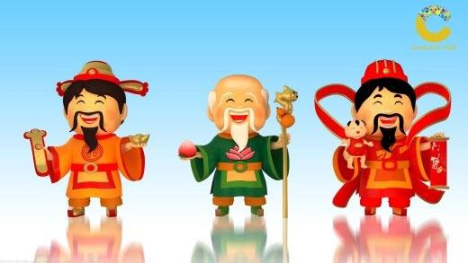 Bộ ba Phúc, Lộc Thọ sẽ diễu hành và lì xì ngày mùng 2, 3 Tết.