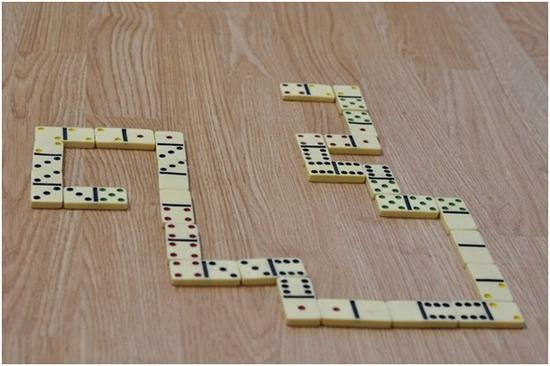 Cờ domino được cho là ra đời ở Trung Quốc vào thời nhà Nguyên.(Ảnh: Internet)
