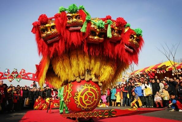 Nằm ở phía nam quảng trường Thiên An Môn, hội đền Changdian được đánh giá là một trong những hội chợ chất lượng nhất của thành phố. (Ảnh: Internet)
