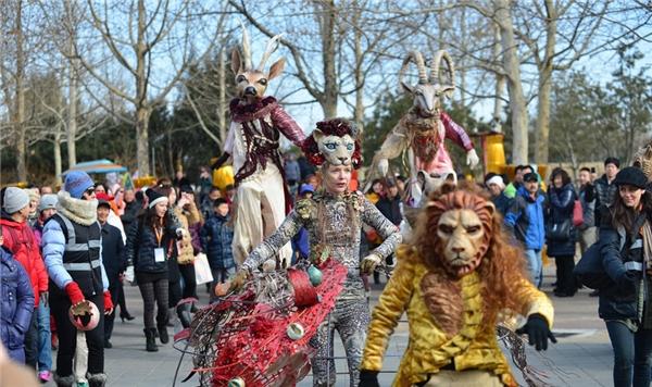 Hội tụ rất nhiều trò vui trên toàn thế giới, lễ hội quốc tế Triều Dương xứng đáng với vị trí trung tâm của các lễ hội. (Ảnh: Internet)
