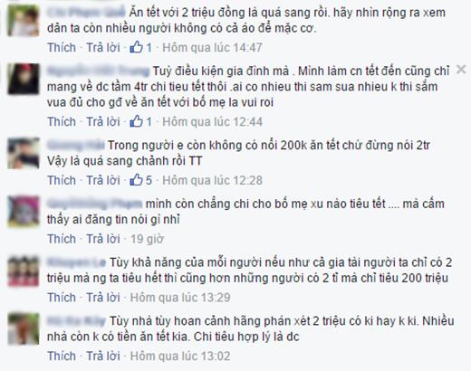 Những bình luận của cư dân mạng. (Ảnh:chụp màn hìnhFBNV)