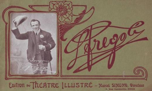 Một tấm áp-phích quảng cáo cho diễn viên Fregoli (Ảnh: Internet)