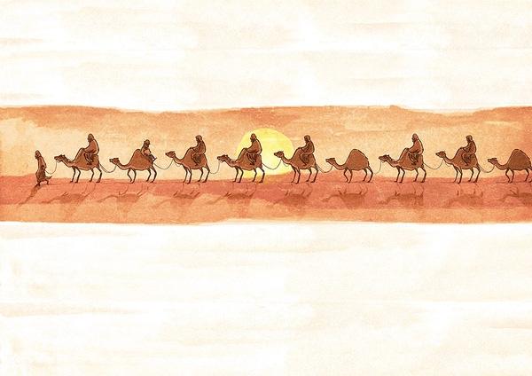 """Và thế là ông lại tiếp tục đi tìm, tiếp tục chuyến đi vô vọng và mơ hồ của mình. Cuộc hành trình cứ kéo dài mãi, những vùng đất có đẹp đến đâu, nhưng nếu không mang tên """"hạnh phúc"""", chẳng nơi nào có thể níu giữ ông ở lại. (Ảnh: Internet)"""