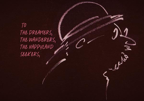 """""""Gửi tới những người mộng mơ, những kẻ lãng du và những người vẫn đang kiếm tìm miền hạnh phúc, hãy nhớ, một tia sáng nhỏ cũng có thể làm rạng rỡ của vũ trụ của bạn"""". (Ảnh: Internet)"""