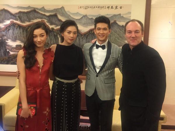 Nữ diễn viên tham dự lễ ra mắt bộ phim bom tấn này tại Bắc Kinh (Trung Quốc). Ảnh: Sinna - Tin sao Viet - Tin tuc sao Viet - Scandal sao Viet - Tin tuc cua Sao - Tin cua Sao