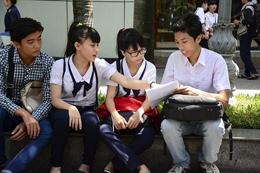 Thí sinh dự thi kì thi THPT Quốc gia. Ảnh: Internet