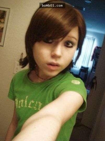 Hình ảnh cô gái trước khi bị sụt cân. (Ảnh: Internet)