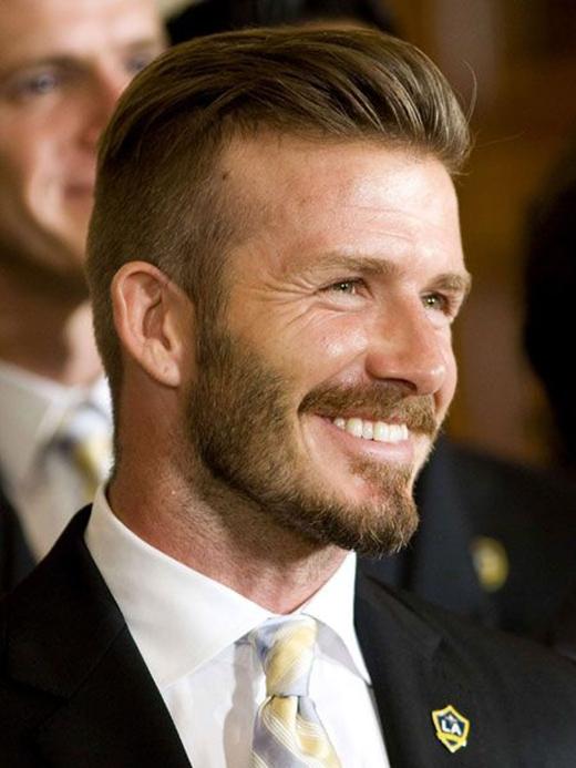 Beckham là người dẫn đầu trào lưu tóc Undercut dành cho nam giới. (Ảnh: Internet)