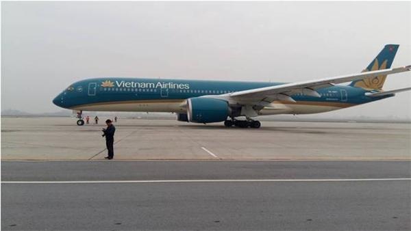 Chiếc máy bay trước khi khởi hành. (Ảnh: Internet)