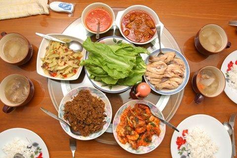 Mâm cơm ngày cuối năm rất có ý nghĩa đối với người Việt. Ảnh: Internet