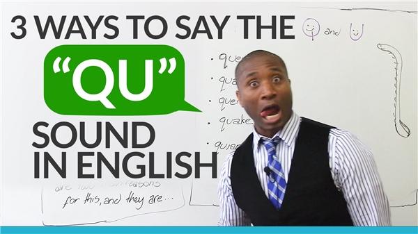 """""""Qu"""" là một âm thanh trong ngôn ngữ Anh. (Internet)"""