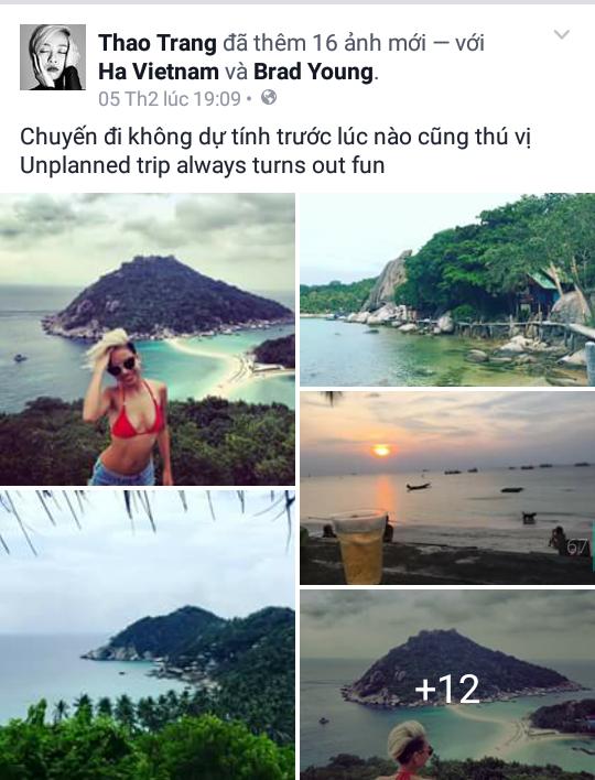 Ca sĩ Thảo Trang tự thưởng cho mình một chuyến du lịch vô cùng thú vị đến Thái Lan sau khoảng thời gian dài đắm chìm trong công việc. - Tin sao Viet - Tin tuc sao Viet - Scandal sao Viet - Tin tuc cua Sao - Tin cua Sao