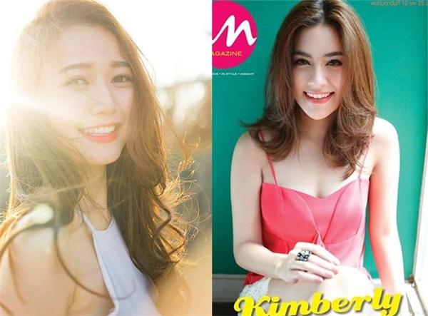 """Nhung Gumiho khiến fan ngây ngất với nụ cười """"tỏa nắng"""". Cô bạn Kimberley Anne Tiamsiri lại khiến người đối diện ấn tượng bởi vẻ đẹp quyến rũ."""