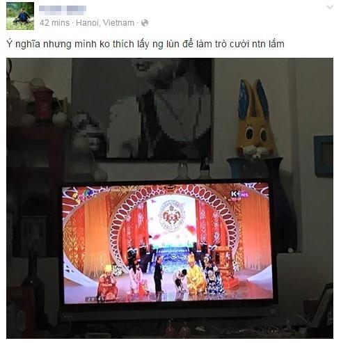 Nhận xét của một người dùng Facebook nhận được nhiều bình luận (comment) đồng tình. Ảnh chụp màn hình - Tin sao Viet - Tin tuc sao Viet - Scandal sao Viet - Tin tuc cua Sao - Tin cua Sao