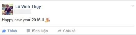 """Siêu mẫu điển trai Vĩnh Thụy hào hứng: """"Happy New Year 2016"""". - Tin sao Viet - Tin tuc sao Viet - Scandal sao Viet - Tin tuc cua Sao - Tin cua Sao"""