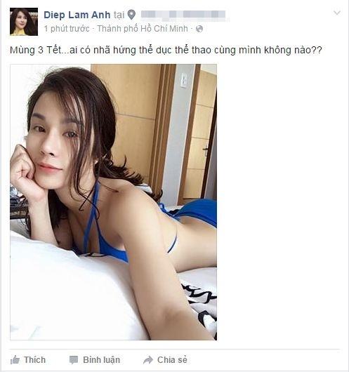 """Mĩ nữ đa tài Diệp Lâm Anh """"rủ rê"""" mọi người cùng tập thể dục với mình để giữ dáng thon, không bị cuốn vào """"vòng xoáy thực đơn"""" thấm đẫm… dầu mỡ của ngày Tết. - Tin sao Viet - Tin tuc sao Viet - Scandal sao Viet - Tin tuc cua Sao - Tin cua Sao"""
