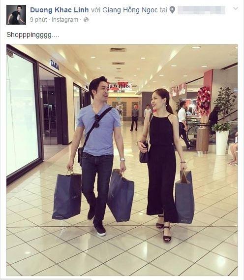 Dương Khắc Linh và Giang Hồng Ngọc đã có buổi mua sắm cực kì thú vị tại một trung tâm thương mại. - Tin sao Viet - Tin tuc sao Viet - Scandal sao Viet - Tin tuc cua Sao - Tin cua Sao