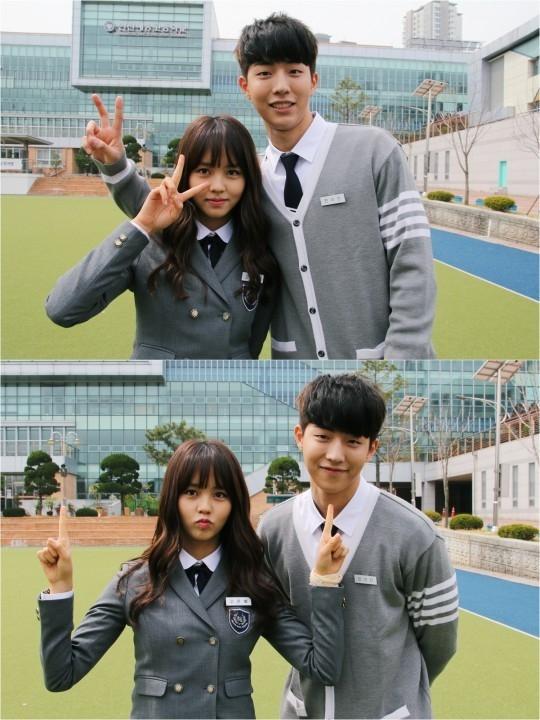 Không chỉ chênh lệch về khoản chiều cao, Nam Joo Hyuk còn khiến Kim So Hyun trông vô cùng nhỏ bé khi ngồi bên cạnh.