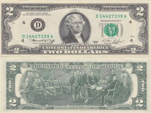 Ý nghĩa may mắn của tờ 2 đô la trong dịp Tết Nguyên Đán