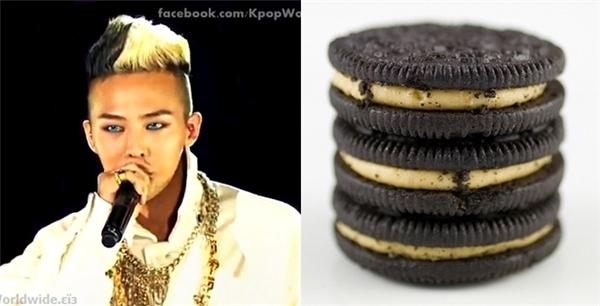 Ngoài ra còn vô số lần đầu tóc của G-Dragon trông giống những món đồ ăn khác nhau.