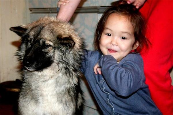 """Cô bé Karina và chú chó Naida thực sự là một đôi bạn thân """"có phúc cùng hưởng, có họa cùng chia"""". (Ảnh: Mirror)"""