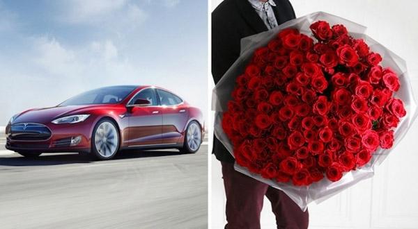 Bó hoa sẽ đi kèm với nhiều dịch vụ đắt đỏ.(Ảnh:Arena Flowers)