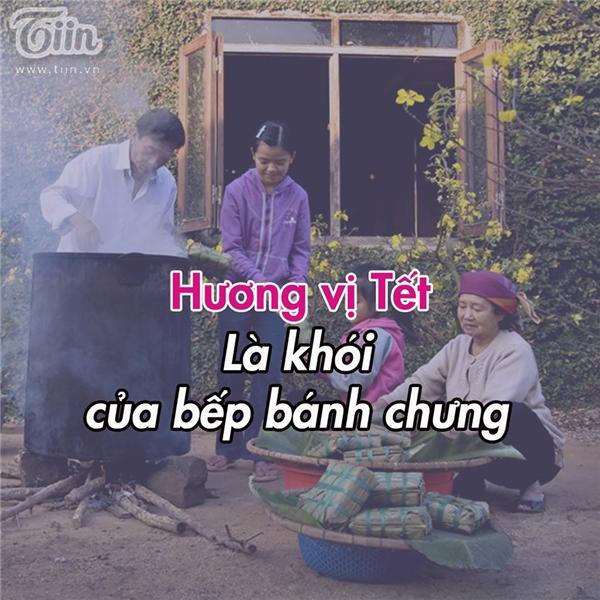 Bên cạnh những câu nói, tình huống hài hước thì những giây phút lắng đọng khi nhớ về Tết cũng nhận được sự ủng hộ nhiệt tình của cư dân mạng.