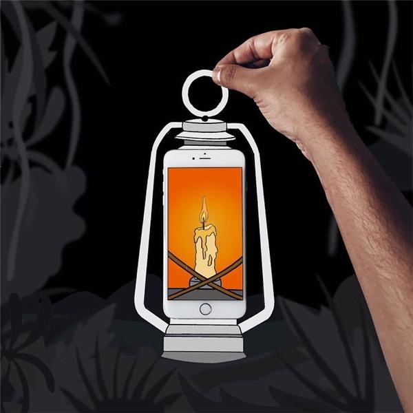 Có chiếc đèn này, bạn không còn sợ bóng tối đâu nhé!