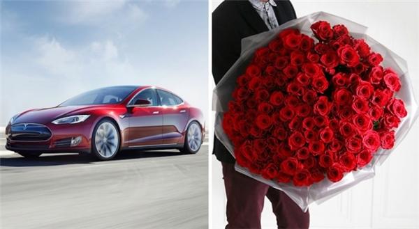 Bó hoa đắt đến khó tin là một sản phẩm mới cho mùa Valentine năm nay. (Ảnh: Internet)