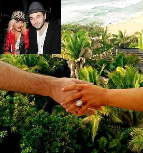 Bức ảnh Christina Aguilera khoe trên Twitter khiến cộng đồng fan xôn xao. (Ảnh: Internet)