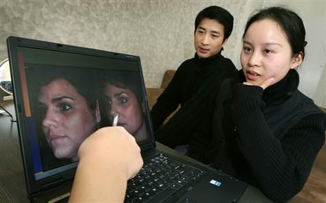 Cô Liu Yan và bạn trai. (Ảnh: Internet)
