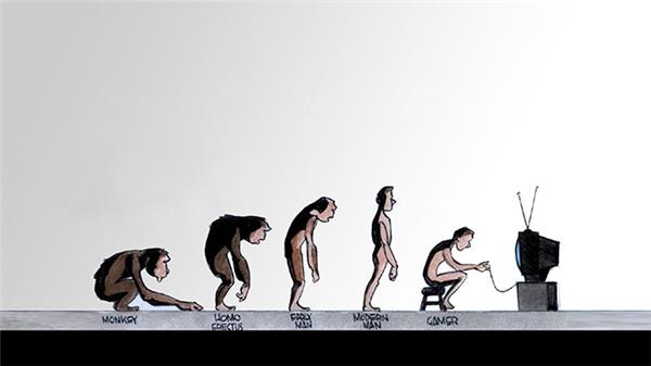 """Loài người đang tự """"quay ngược"""" tiến hóa... (Ảnh: Bored Panda)"""