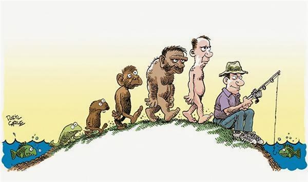 """Loạt ảnh châm biếm về sự tiến hóa khiến bạn phải """"lặng người"""" suy nghĩ"""