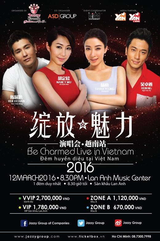 Poster chính thức của chương trình.