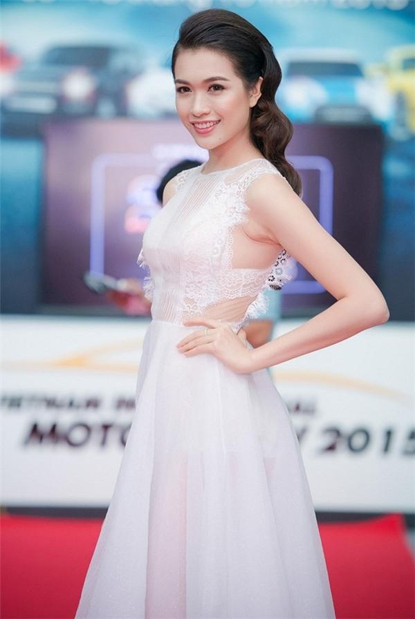 Lệ Hằng sẽ thay thế Trà My tham dự Hoa hậu Hoàn vũ 2016?