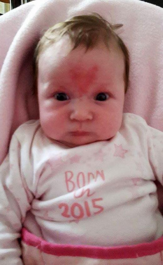Bé sinh vào tháng 11/2015...(Ảnh: HotSpot Media)