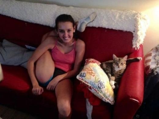 Cái gì mèo làm được thì người cũng làm được. (Ảnh: Internet)