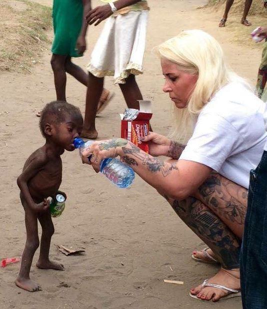 Bức ảnh khiến nhiều người rưng rưng nước mắt.