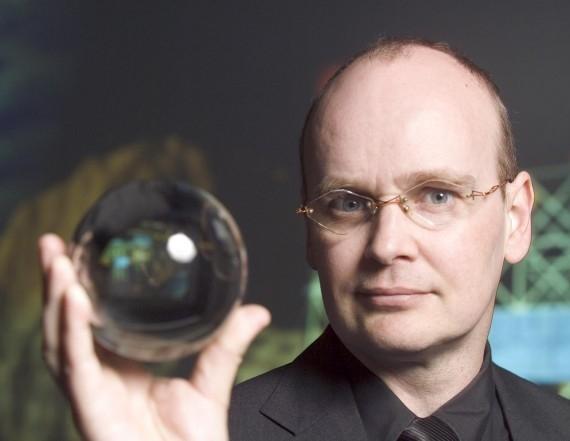 Tiến sĩ Ian Pearson- chuyên gia hàng đầu trong lĩnh vực vị lai học. (Ảnh: Internet)