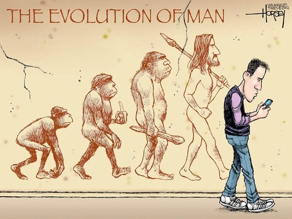 Chùm tranh: Khi loài người tiến hoá một cách... oái oăm