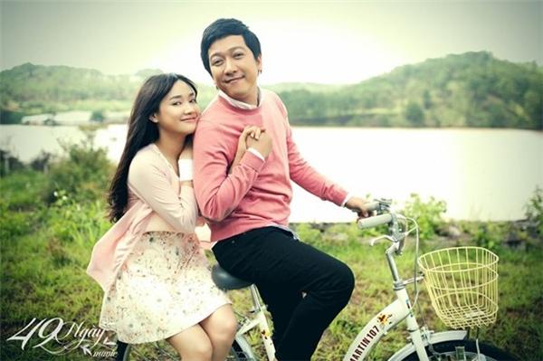 Là người tình màn ảnh của Trường Giang trong phim 49 ngày, Nhã Phương được giới truyền thông và người hâm mộ cho rằng chính là người yêu của Trường Giang. (Ảnh: Internet) - Tin sao Viet - Tin tuc sao Viet - Scandal sao Viet - Tin tuc cua Sao - Tin cua Sao