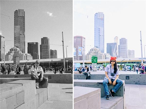 """""""Vào năm 2011, cha đã cùng mẹ tôi đến thành phố Melbourne (Úc) du lịch, do vậy, tôi quyết định đến thành phố này để hoàn thành nốt phần nghiên cứu sau đại học của mình"""". (Ảnh: goodlcuksarah)"""