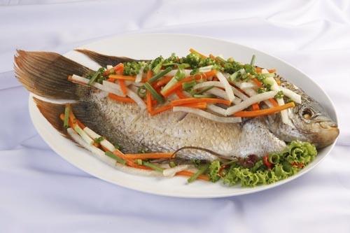 Cá có giá trị dinh dưỡng cao, có thể ăn đượcmỗi ngày.(Ảnh: Internet)