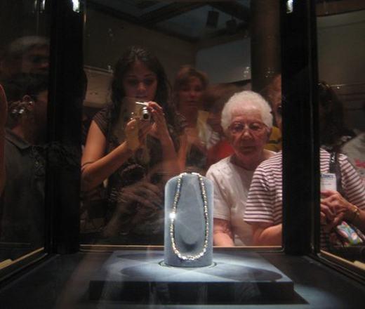 Viên kim cương này đang được lưu giữ tại Bảo tàng Smithsonian ở Washington DC. (Ảnh: Internet)